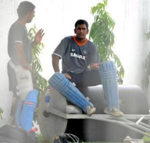 Dhoni takes the test series off