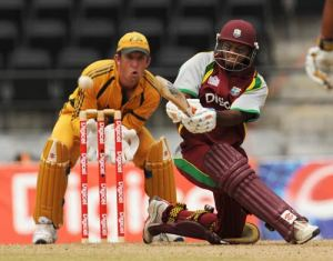 Shiv Chanderpaul against the Aussies