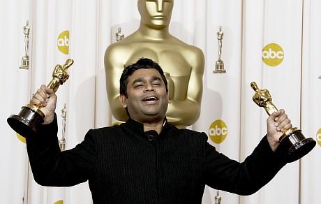 ARR with Oscars at LA Kodak Theatre