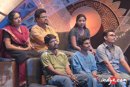Airtel Super Singer top 6 (Before the Recall round) Top (From the left): Ranjani, Prasanna and Renu; Bottom (From the left): Rohit, Ajeesh and ravi