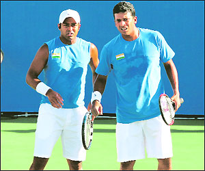 Leander and Mahesh a partnership which captured the imagination of Indian tennis lovers