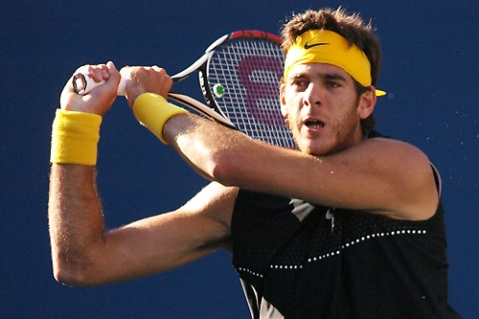 Del Potro stunned Roger Federer to win the US Open