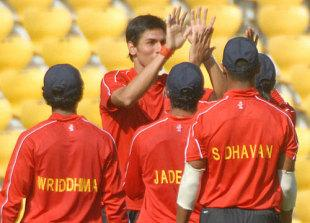 Sudeep Tyagi is the only new face in the Indian squad for the Australian series (Pic: courtesy Cricinfo)